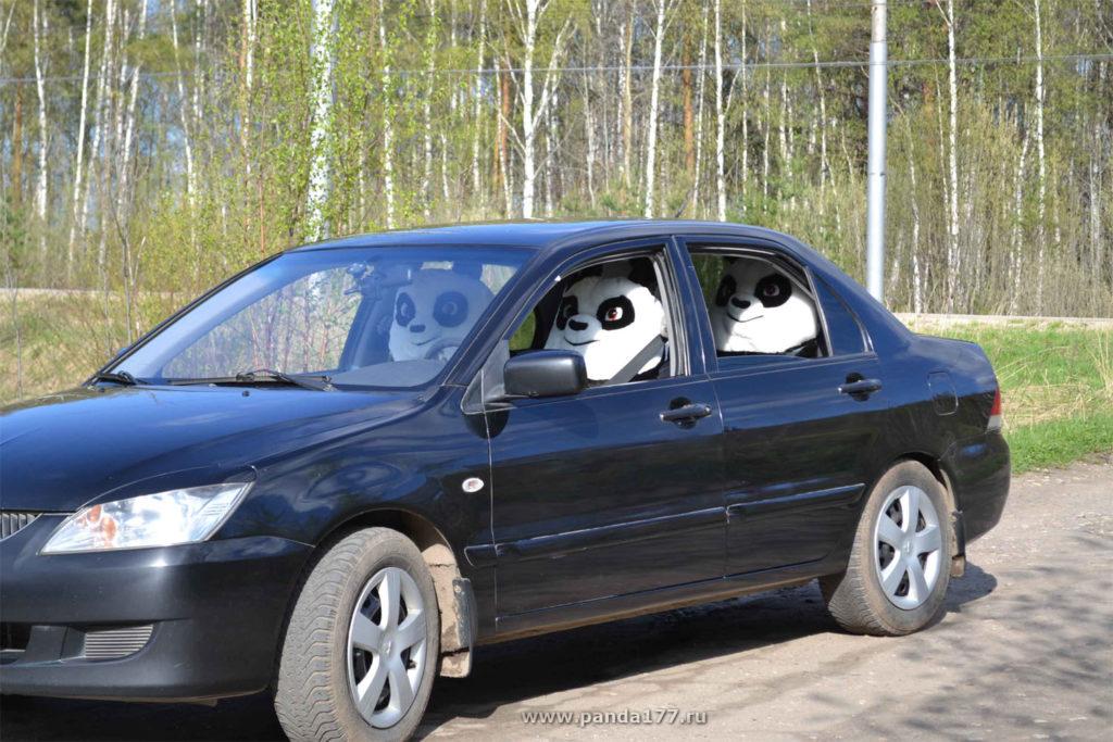 Авточехол Панда