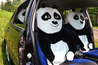Автомобильные чехлы Кунг-фу Панда